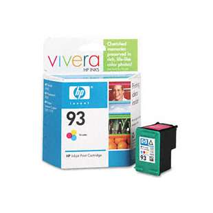 Original Hewlett Packard (HP) C9361AN (HP 93 ink) high quality inkjet cartridge - color cartridge