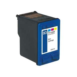 Remanufactured HP C9361 (HP 93 ink) high quality inkjet cartridge - color cartridge