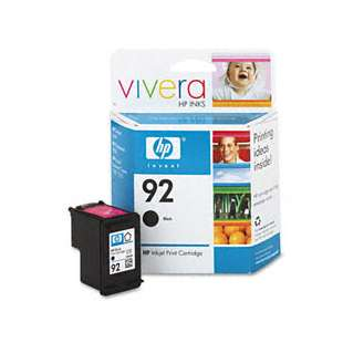 Original Hewlett Packard (HP) C9362AN (HP 92 ink) high quality inkjet cartridge - black cartridge