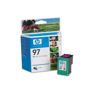 Original Hewlett Packard (HP) C9363 (HP 97 ink) high quality inkjet cartridge - color cartridge