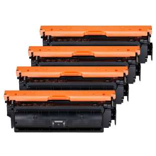 Compatible Canon 040H toner cartridges - 4-pack