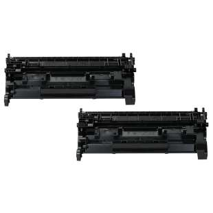 Compatible Canon 052H (2200C001) toner cartridge - high capacity black - 2-pack