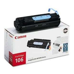 Genuine Brand Canon 106 (0264B001AA) toner cartridge - black cartridge