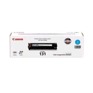 Genuine Brand Canon 6271B001AA (131) toner cartridge - cyan