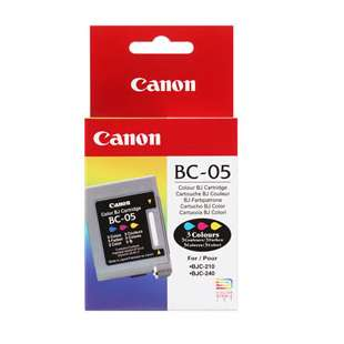 Genuine Brand Canon BC-05 high quality inkjet cartridge - color cartridge