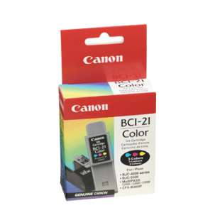 Genuine Brand Canon BCI-21Cl high quality inkjet cartridge - color cartridge
