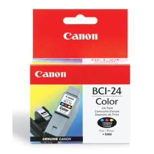 Genuine Brand Canon BCI-24C high quality inkjet cartridge - color cartridge