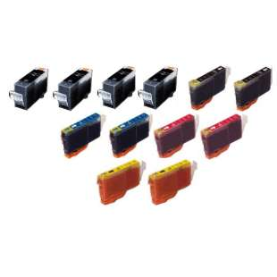 Compatible high quality inkjet cartridges Multipack for Canon BCI-3 / BCI-6 - 10 pack