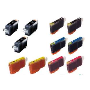 Compatible high quality inkjet cartridges Multipack for Canon BCI-3 / BCI-6 - 11 pack