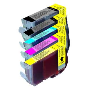 Compatible high quality inkjet cartridges Multipack for Canon BCI-3 / BCI-6 - 5 pack