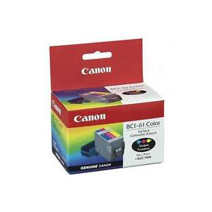 Genuine Brand Canon BCI-61 high quality inkjet cartridge - color cartridge