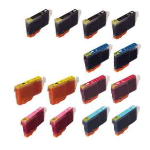 Compatible high quality inkjet cartridges Multipack for Canon BCI-6 - 14 pack