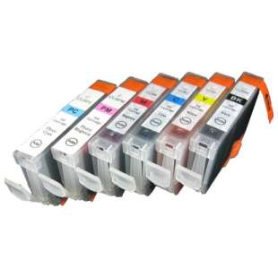 Compatible high quality inkjet cartridges Multipack for Canon BCI-6 - 6 pack