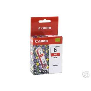 Genuine Brand Canon BCI-6R high quality inkjet cartridge - red