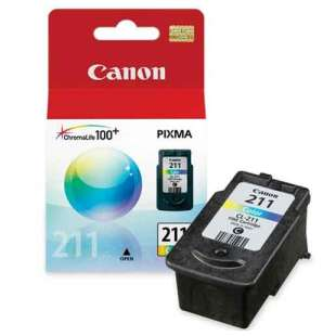 Genuine Brand Canon CL-211 high quality inkjet cartridge - color cartridge