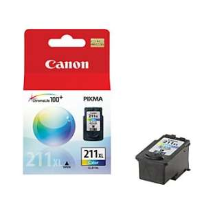 Genuine Brand Canon CL-211XL high quality inkjet cartridge - high capacity color