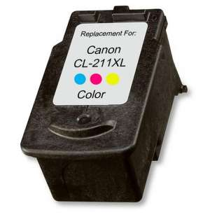 Remanufactured Canon CL-211XL high quality inkjet cartridge - color cartridge