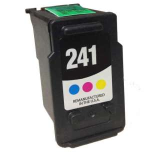 Remanufactured Canon CL-241 high quality inkjet cartridge - color cartridge
