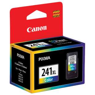 Genuine Brand Canon CL-241XL high quality inkjet cartridge - high capacity color