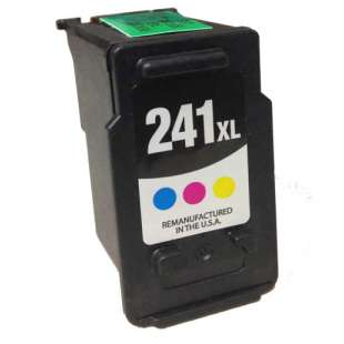 Remanufactured Canon CL-241XL high quality inkjet cartridge - high capacity color