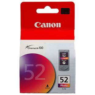 Genuine Brand Canon CL-52 high quality inkjet cartridge - color cartridge