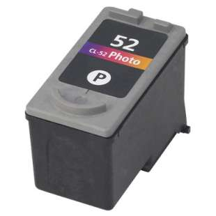 Remanufactured Canon CL-52 high quality inkjet cartridge - photo