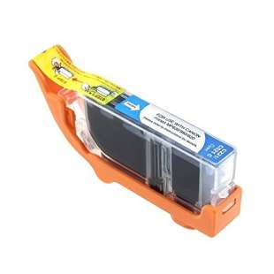 Compatible ink cartridge guaranteed to replace Canon CLI-221C - cyan