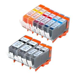 Compatible high quality inkjet cartridges Multipack for Canon CLI-221 / PGI-220 - 10 pack