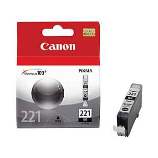 Genuine Brand Canon CLI-221Bk high quality inkjet cartridge - black cartridge