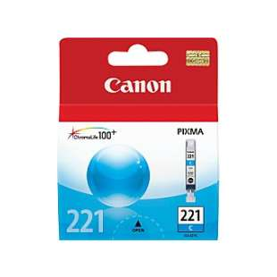 Genuine Brand Canon CLI-221C high quality inkjet cartridge - cyan