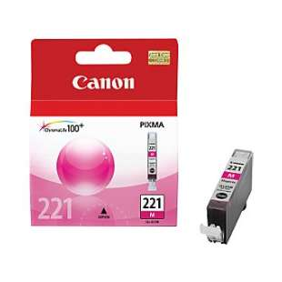 Genuine Brand Canon CLI-221M high quality inkjet cartridge - magenta