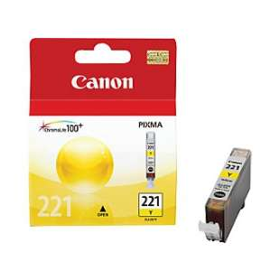 Genuine Brand Canon CLI-221Y high quality inkjet cartridge - yellow