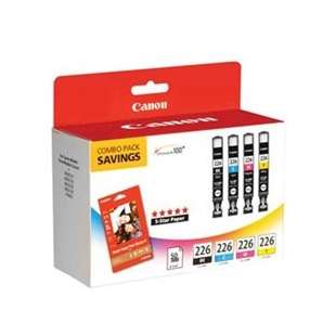 Genuine Brand Canon 4546B007 (CLI-226) Multipack - 4 pack