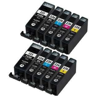 Compatible high quality inkjet cartridges Multipack for Canon CLI-226 / PGI-225 - 10 pack