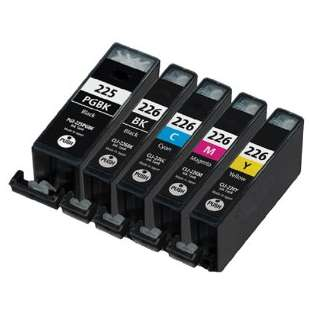 Compatible high quality inkjet cartridges Multipack for Canon CLI-226 / PGI-225 - 5 pack
