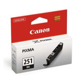 Genuine Brand Canon CLI-251Bk high quality inkjet cartridge - black cartridge