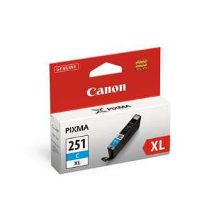 Genuine Brand Canon CLI-251C XL high quality inkjet cartridge - cyan