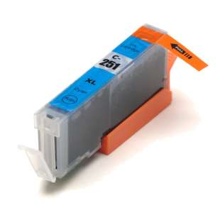 Compatible ink cartridge guaranteed to replace Canon CLI-251C XL - cyan