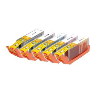 Compatible high quality inkjet cartridges Multipack for Canon CLI-251 XL / PGI-250 XL - 5 pack