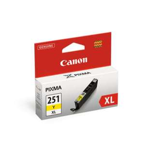 Genuine Brand Canon CLI-251Y XL high quality inkjet cartridge - yellow