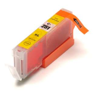 Compatible ink cartridge guaranteed to replace Canon CLI-251Y XL - yellow