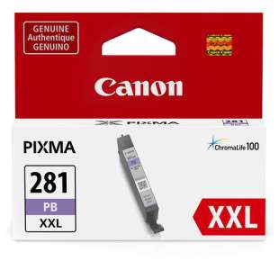 Original Canon CLI-281PB XXL inkjet cartridge - photo blue
