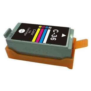 Compatible ink cartridge guaranteed to replace Canon CLI-36 - color cartridge