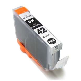 Compatible ink cartridge guaranteed to replace Canon CLI-42BK - black cartridge