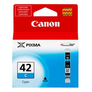Original Canon CLI-42 inkjet cartridge - cyan