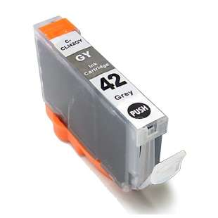 Compatible ink cartridge guaranteed to replace Canon CLI-42GY - gray
