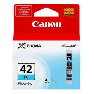 Original Canon CLI-42 inkjet cartridge - photo cyan