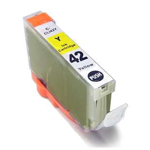 Compatible ink cartridge guaranteed to replace Canon CLI-42Y - yellow