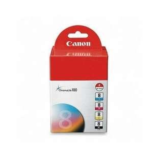 Genuine Brand Canon 0620B010 (CLI-8) Multipack - 4 pack