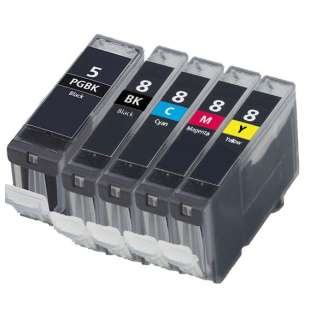 Compatible high quality inkjet cartridges Multipack for Canon CLI-8 / PGI-5 - 5 pack